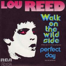 <cite>Walk On The Wild Side / Perfect Day</cite> by Lou Reed (RCA Victor Spain, 1973)