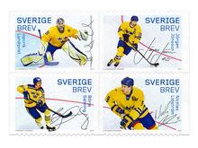 <cite>Hockeyhjältar</cite> stamp series
