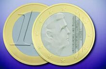 Dutch euro coins, 2014