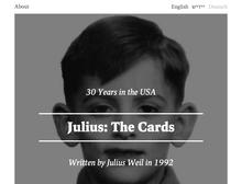 Julius: The Cards