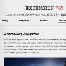 Extension 765: A Marketplace from Steven Soderbergh
