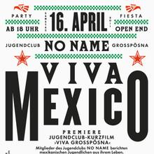 <cite>Viva Mexico</cite> Flyer