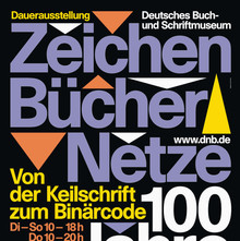 <cite>Zeichen Bücher Netze</cite> at Deutsche Nationalbibliothek