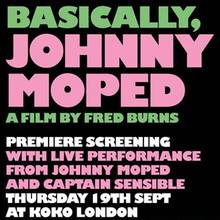 <cite>Basically, Johnny Moped</cite> by Fred Burns
