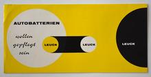 Anmerkung zur Pflege von Leuck Autobatterien