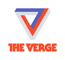 <cite>The Verge</cite> Logo and Website