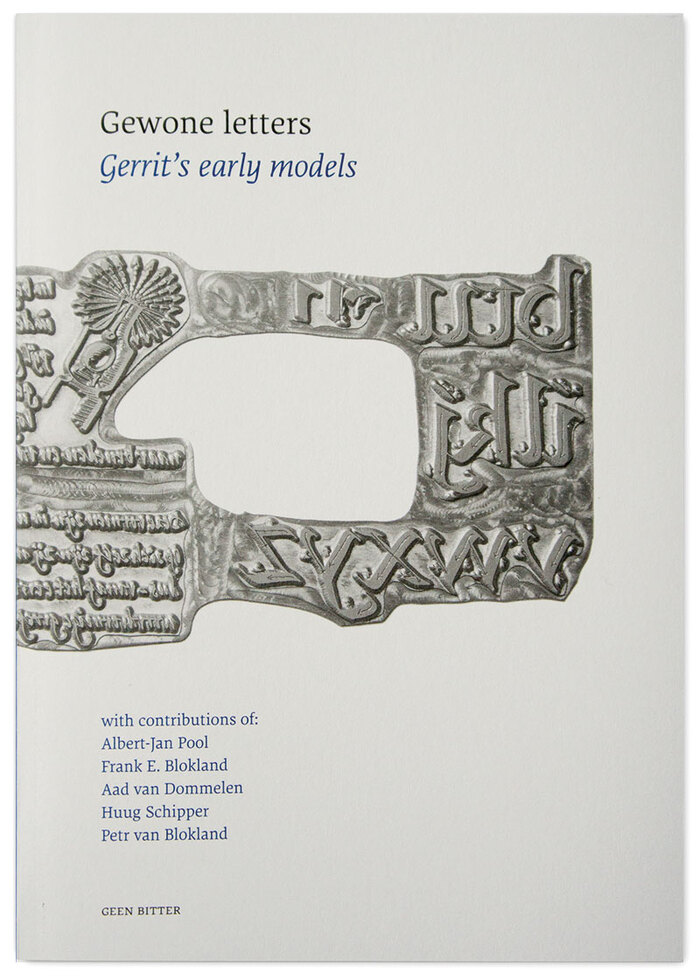 FF_Dora_Gewone_Letters_Geen_Bitter_2013_Cover