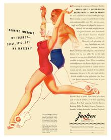 Jantzen Swimwear Ads, 1938–41