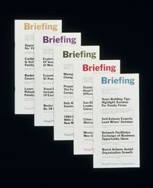 Young Presidents' Organization <cite>Briefing</cite>