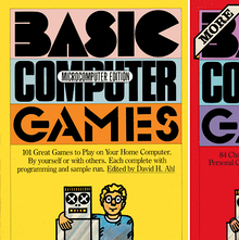 <cite>BASIC Computer Games: Microcomputer Edition</cite>