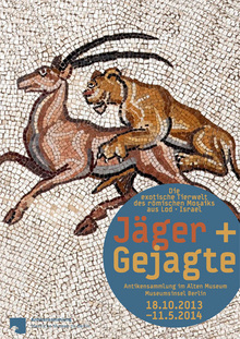 <cite>Jäger + Gejagte</cite> at Altes Museum