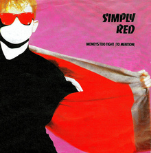 <cite>Money's Too Tight To Mention</cite> by Simply Red, German Release