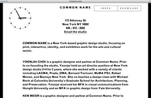 <cite>Common Name</cite> Website