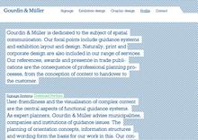 Gourdin & Müller Website