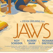 <cite>JAWS</cite> alternate movie poster