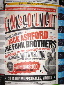 Funk & Soul Night concert posters