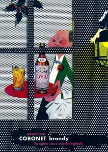Coronet Brandy ad