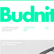 Paul Budnitz website