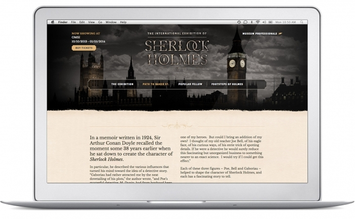 sherlock-holmes-exhibition-website-path-to-ba