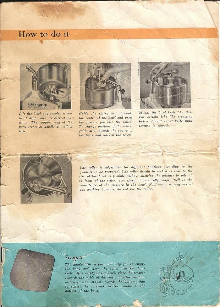 electrolux-assistent-dlx-model-n4-manual-bowl