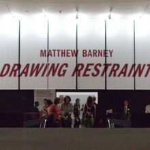 """Matthew Barney: Drawing Restraint"" at SFMOMA"