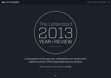 Letterboxd 2013 Year in Review