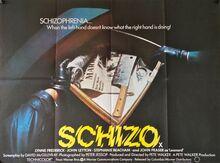 <cite>Schizo</cite> movie posters