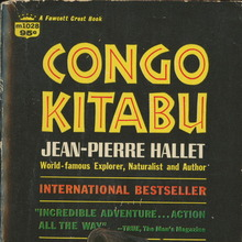 <cite>Congo Kitabu</cite>, 1968 edition book cover