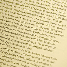 <cite>Mindscape. Hamish Fulton, Jürgen Partenheimer</cite>