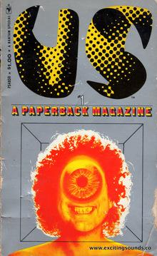 <cite>US, The paperback magazine</cite> covers