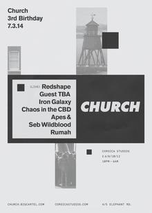 Church: 3rd Birthday