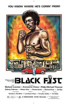 <cite>Black Fist</cite> movie poster