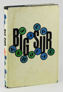 <cite>Big Sur</cite> by Jack Kerouac, first edition