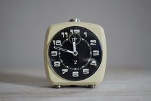 Vintage French Jaz alarm clock