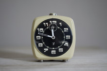 Vintage French Jaz alarm clock