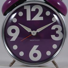 Vintage 1970s twin bell Westclox alarm clocks