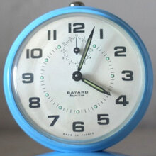 Vintage French Bayard Alarm Clock