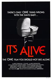 <cite>It's Alive</cite> and <cite>It's Alive 2</cite> movie posters