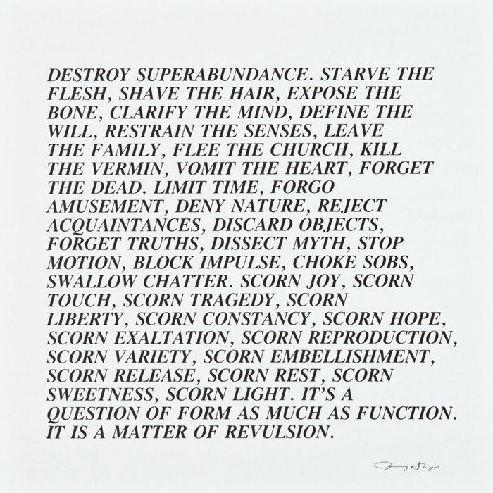 Jenny Holzer - Artists - Cheim Read