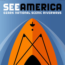 <cite>See America</cite> posters by Luis Prado
