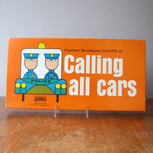 Calling All Cars board game, 3rd edition