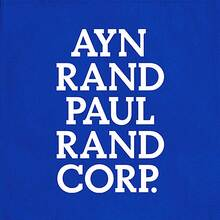 Ayn Rand Paul Rand Corp. Tote Bag