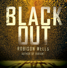 <cite>Going Dark</cite>, <cite>Blackout</cite>, <cite>Dead Zone</cite> book covers