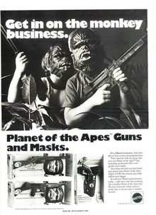 Planet of the Apes Guns and Masks