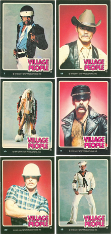 Village People Trading Cards