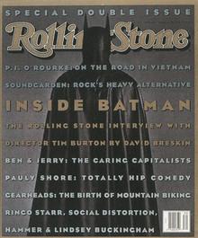 <cite>Rolling Stone</cite>, Batman Issue, 1993