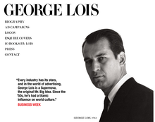George Lois website