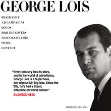 George Lois website