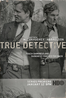 <cite>True Detective</cite> poster and title sequence