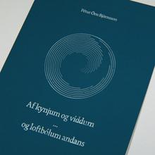 <cite>Af kynjum og víddum … og loftbólum andans</cite> by Pétur Örn Björnsson